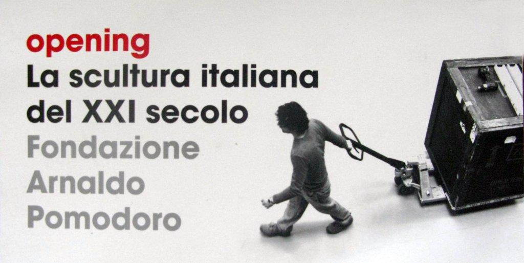 Escultura italiana do s culo xxi a14 for Fondazione arnaldo pomodoro